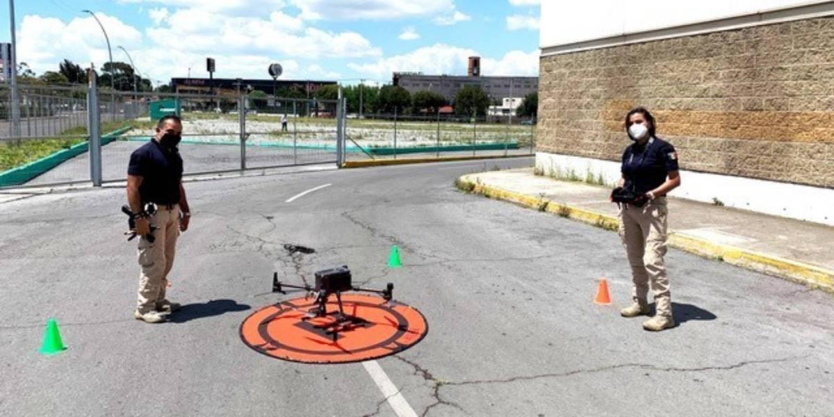 Metepec Mexico drones improve lives