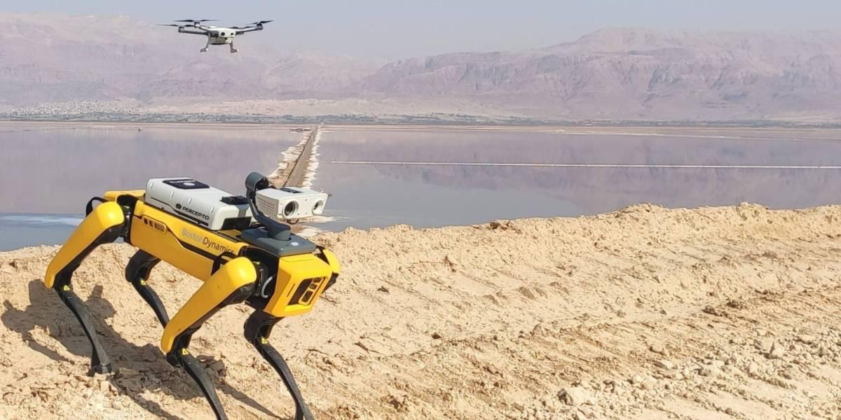 Percepto $45 million Boston Dynamics