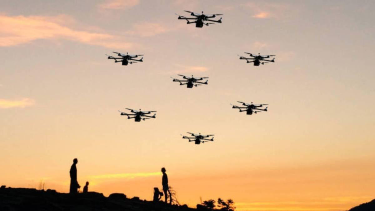blockchain automated drone fleet hacks