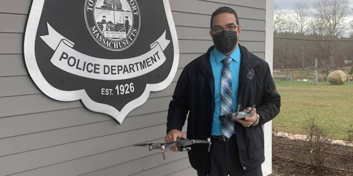 Westport police drones suicidal man