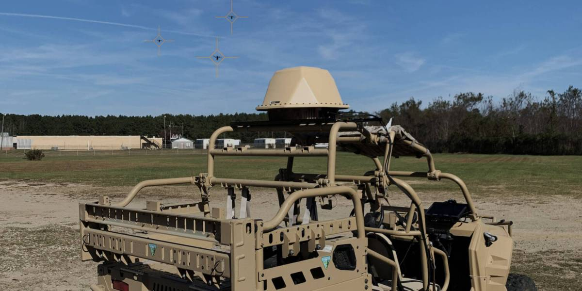 counter-drone technology detects drones