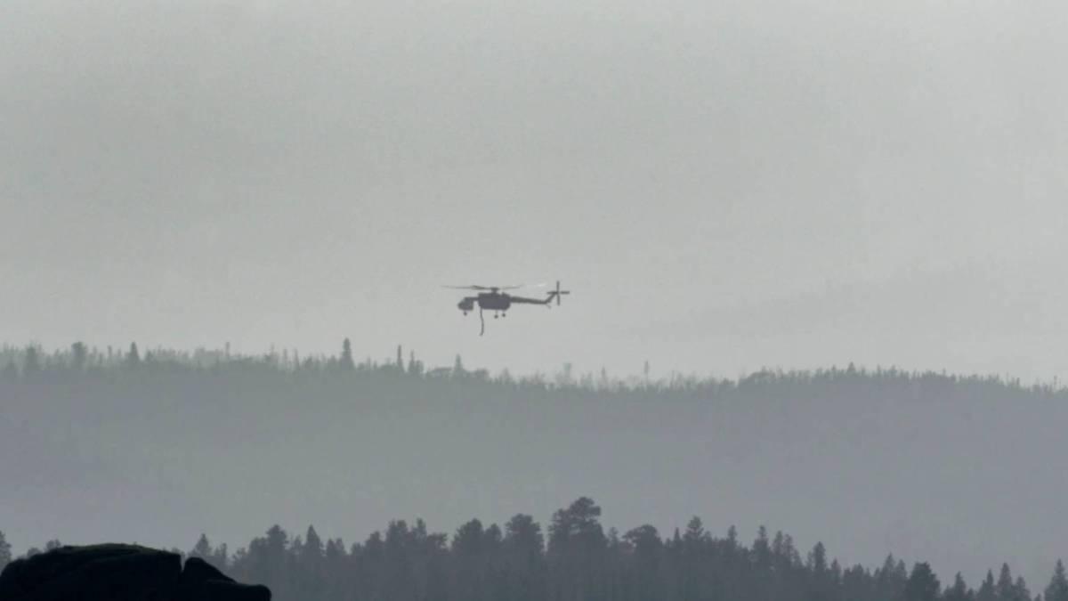 drone grounds firefighting Colorado