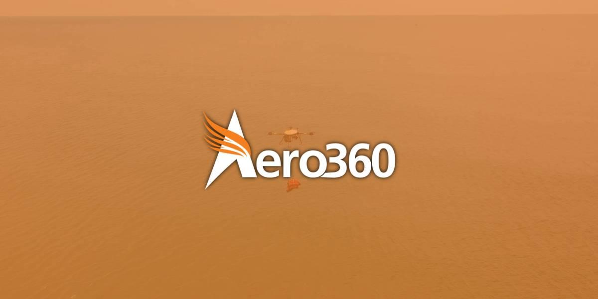 Aero360 tethered drones