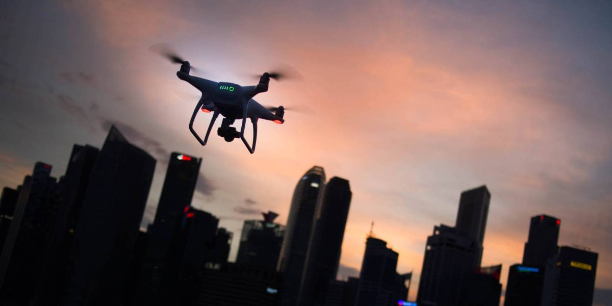 Chinese man's drone seized fined
