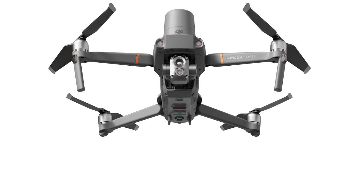 dji drones first responder