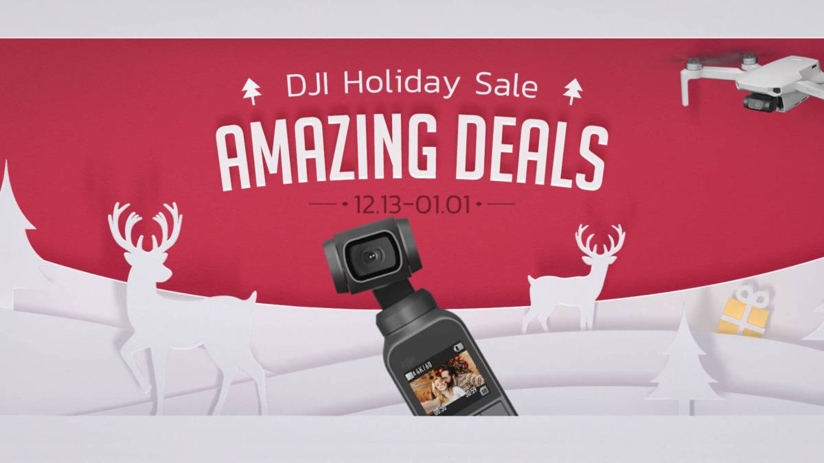 DJI holiday sale Mavic FPV