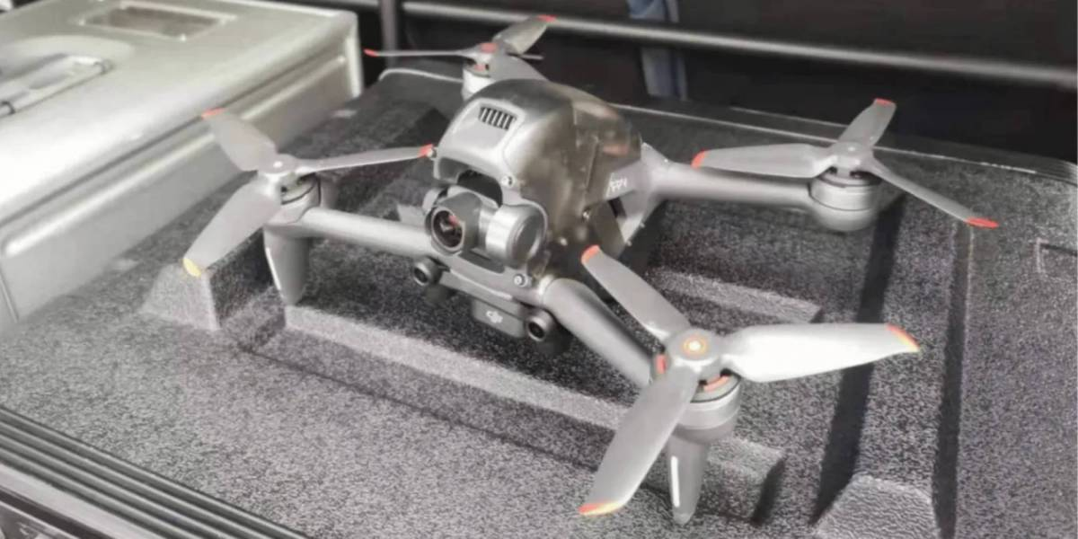 DJI's FPV drone released next year