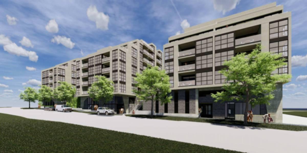 Design future apartment drone delivery