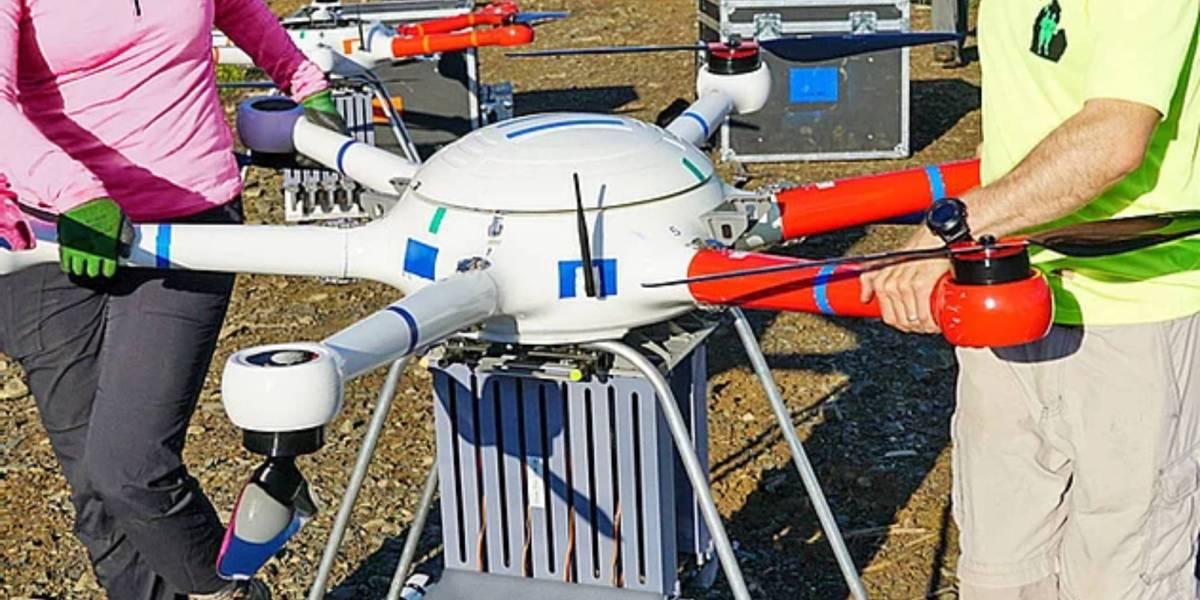 DroneSeed BVLOS reforesting drone fleet