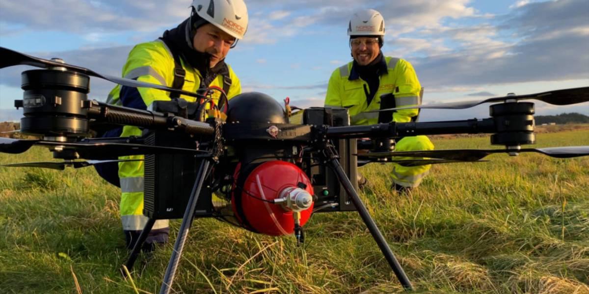Nordic Unmanned flight hydrogen drone