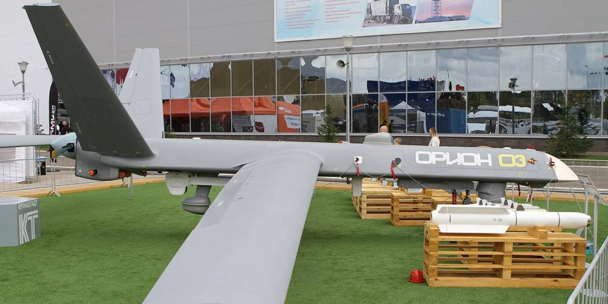 Russia's Orion drone missiles Russian Syria