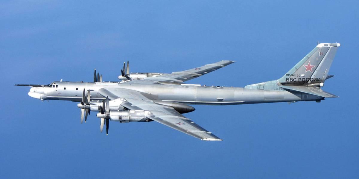 Russia's Tu-95 bomber aerial drones
