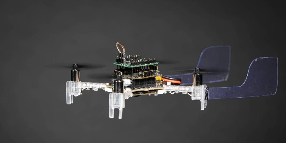 Smellicopter drone moth antenna smells