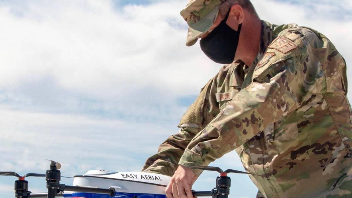 Travis Air Force autonomous drones