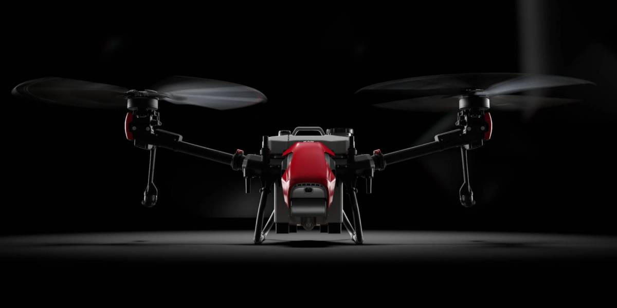 XAG bi-copter agriculture drone China