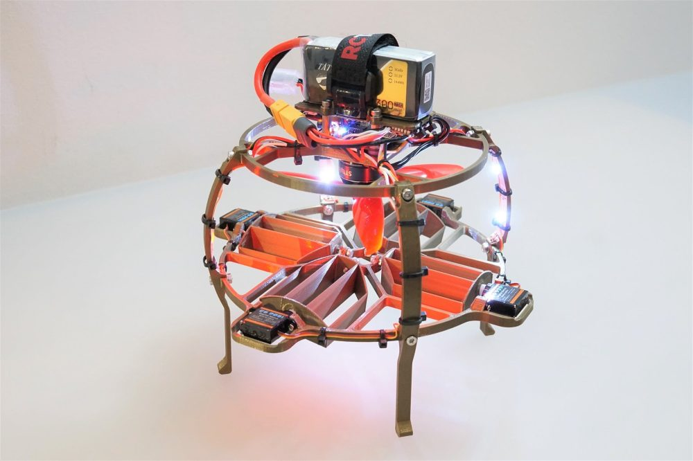 One propeller drone