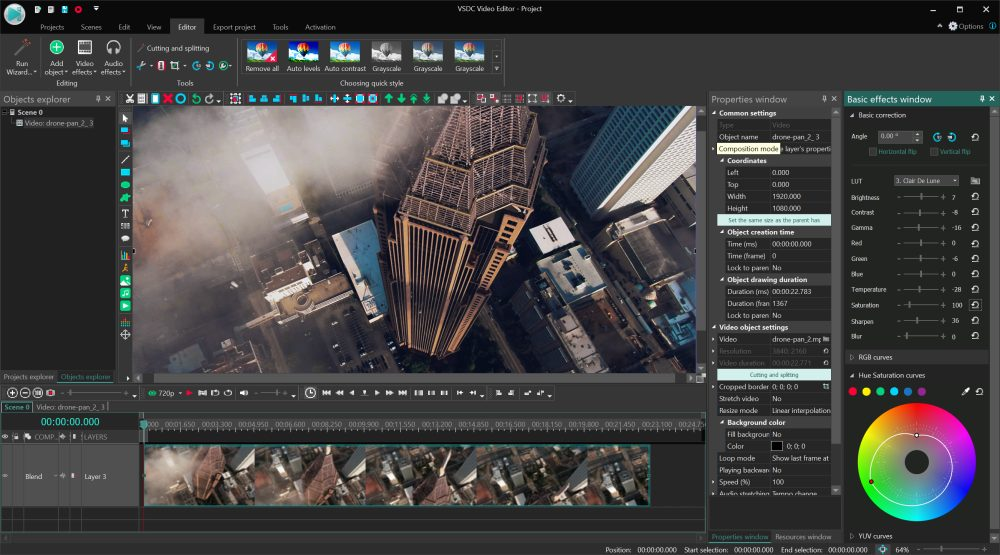 Vsdc Video Editor Can Free Video Editing Software Be Any Good Yes It Can Dronedj
