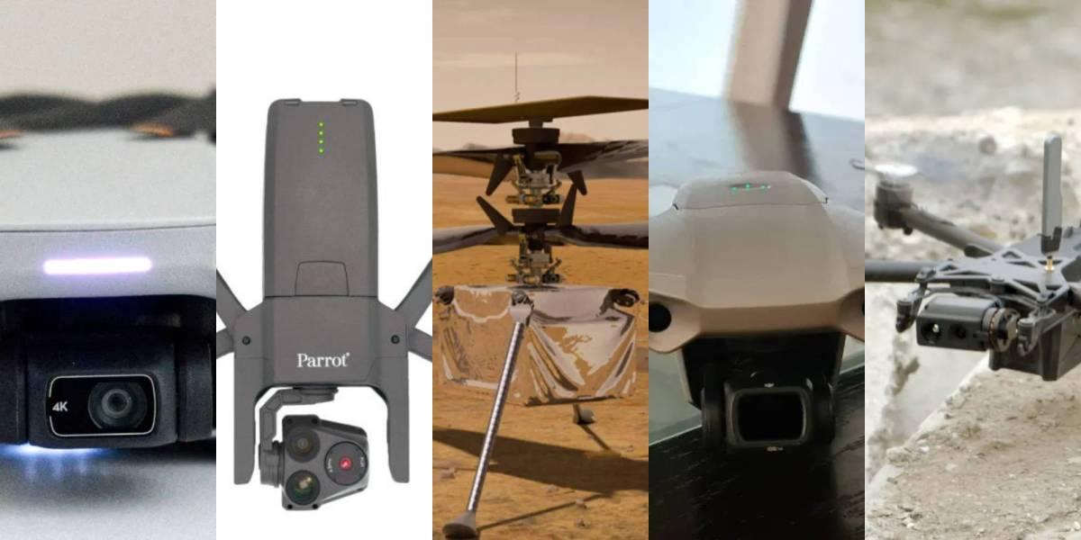 top drones 2020 consumer commercial