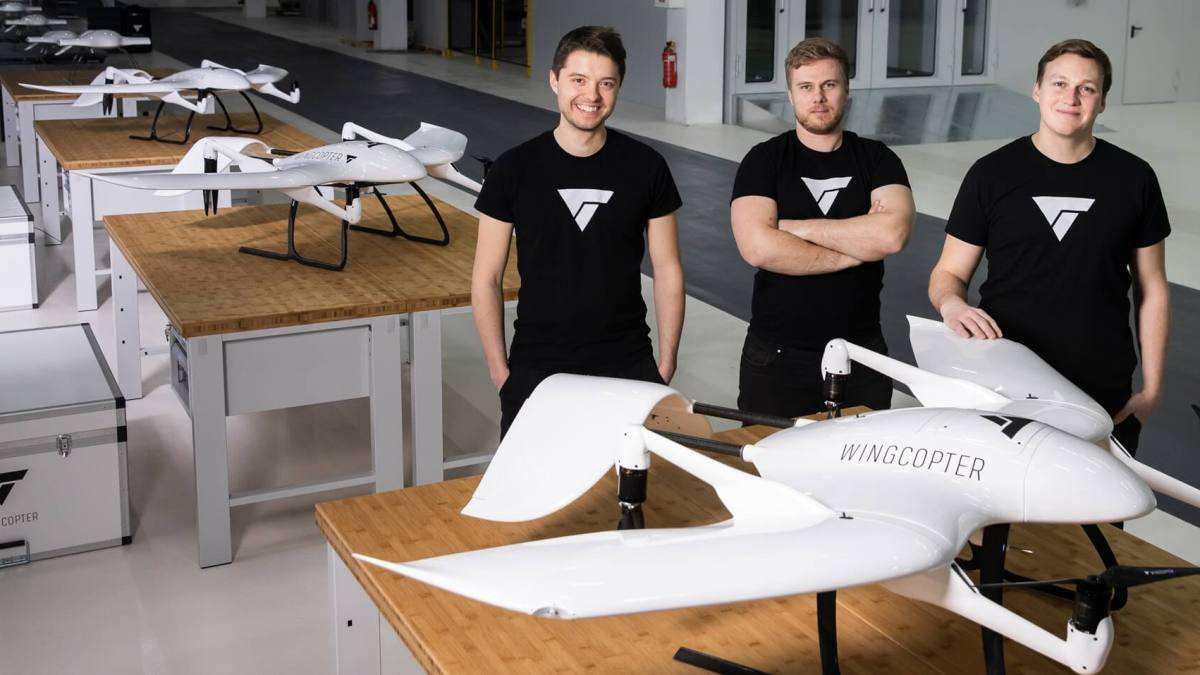 Wingcopter funding North America