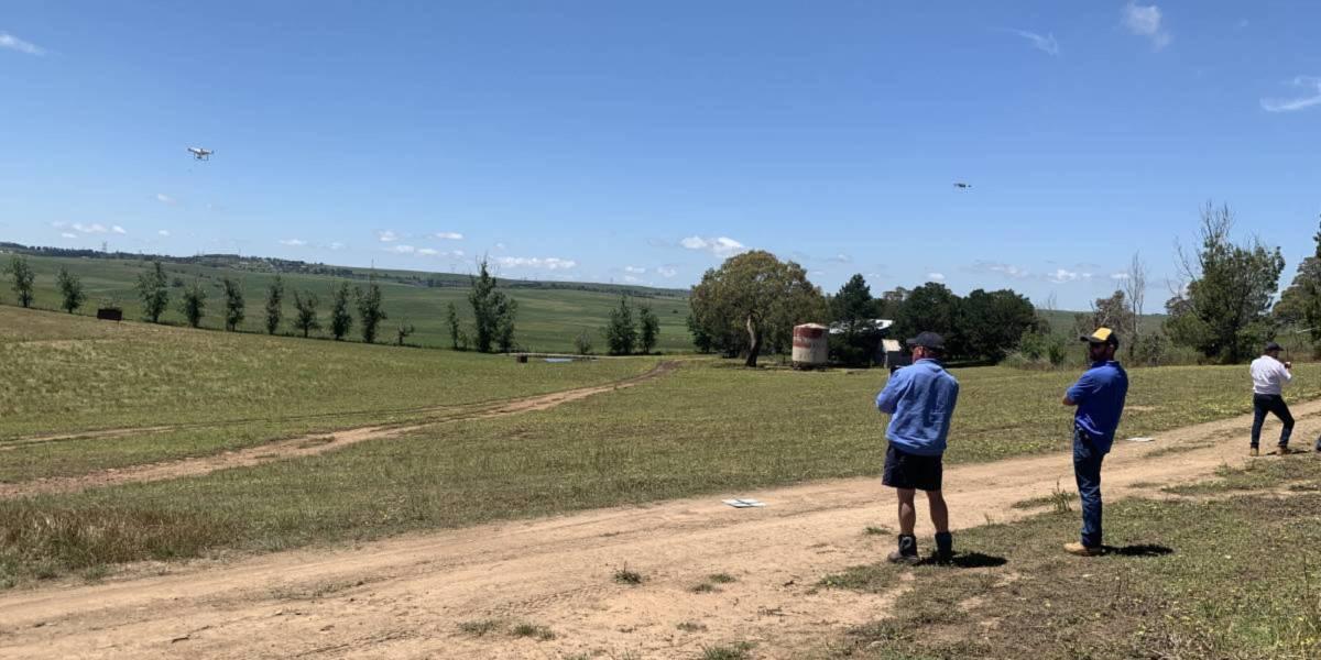 Australian farmers drone training course