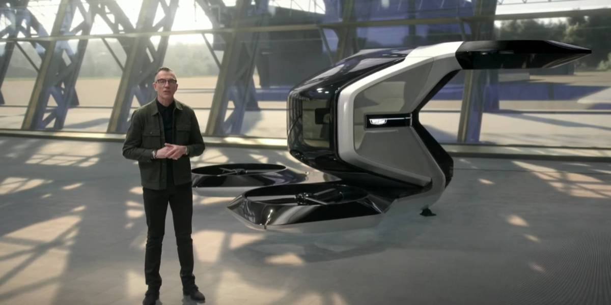 Cadillac VTOL passenger drone