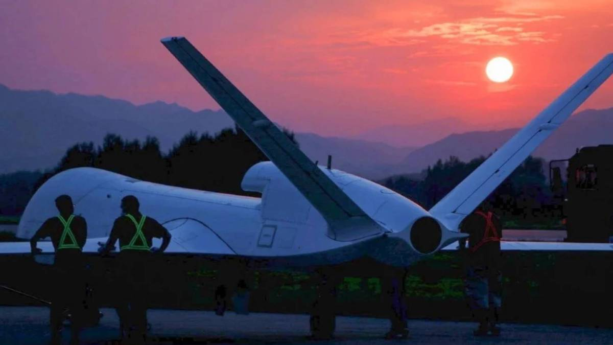 China's WJ-700 armed surveillance drone