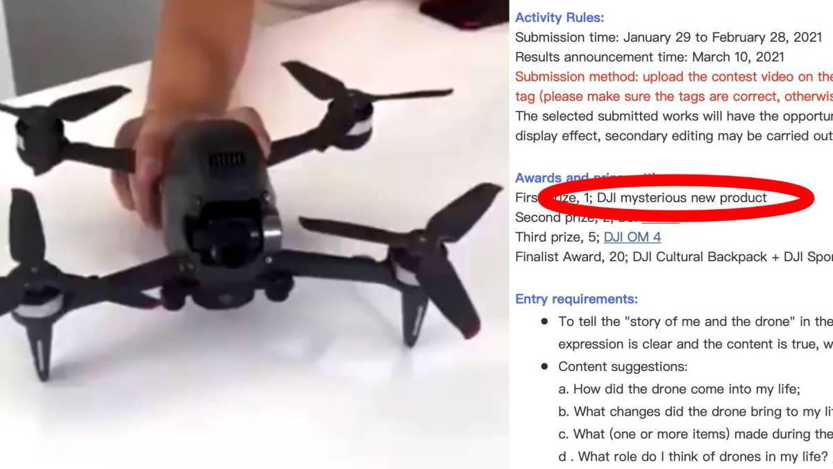 DJI FPV drone release