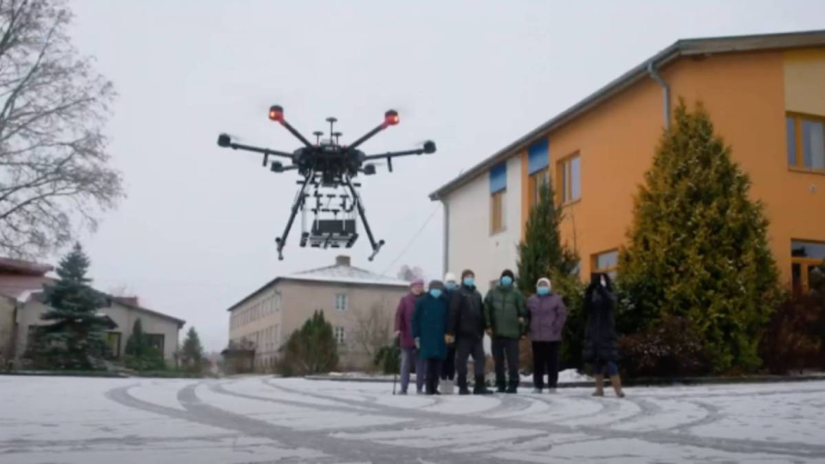 Drone deliveries take-off in Latvia for the first time
