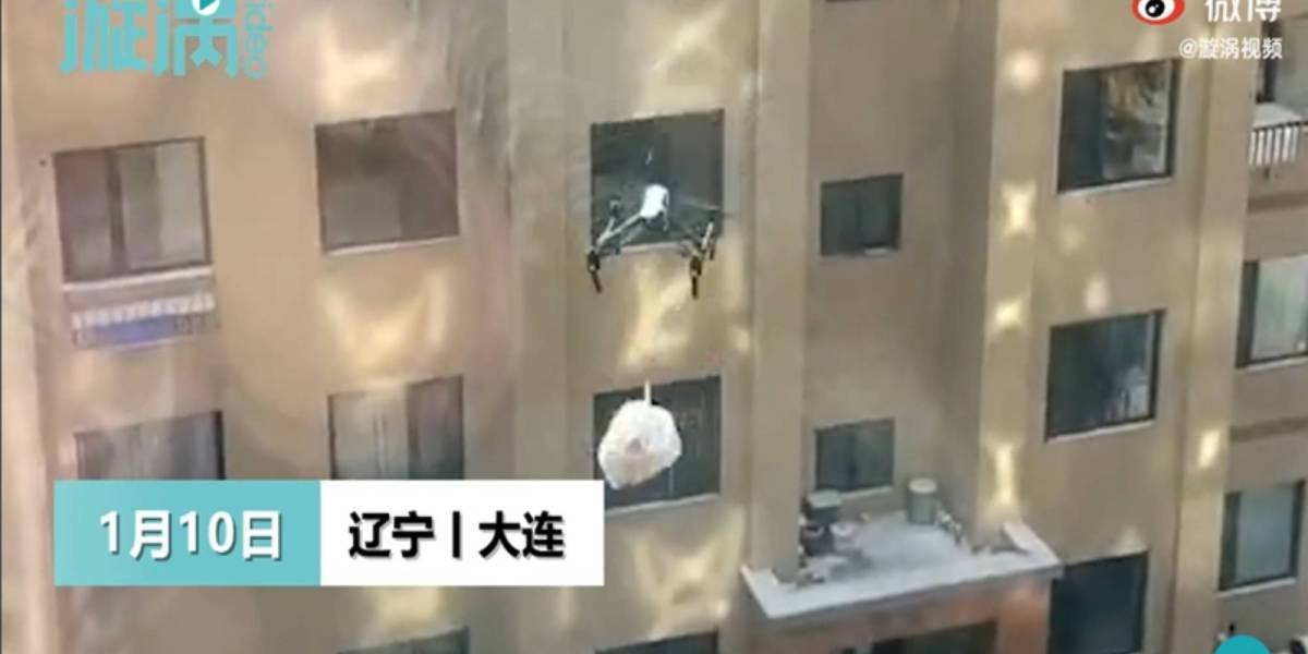 Drones trash China COVID fighting increase litter