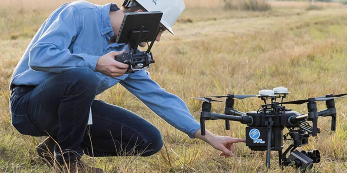 FPL West Palm Beach drones