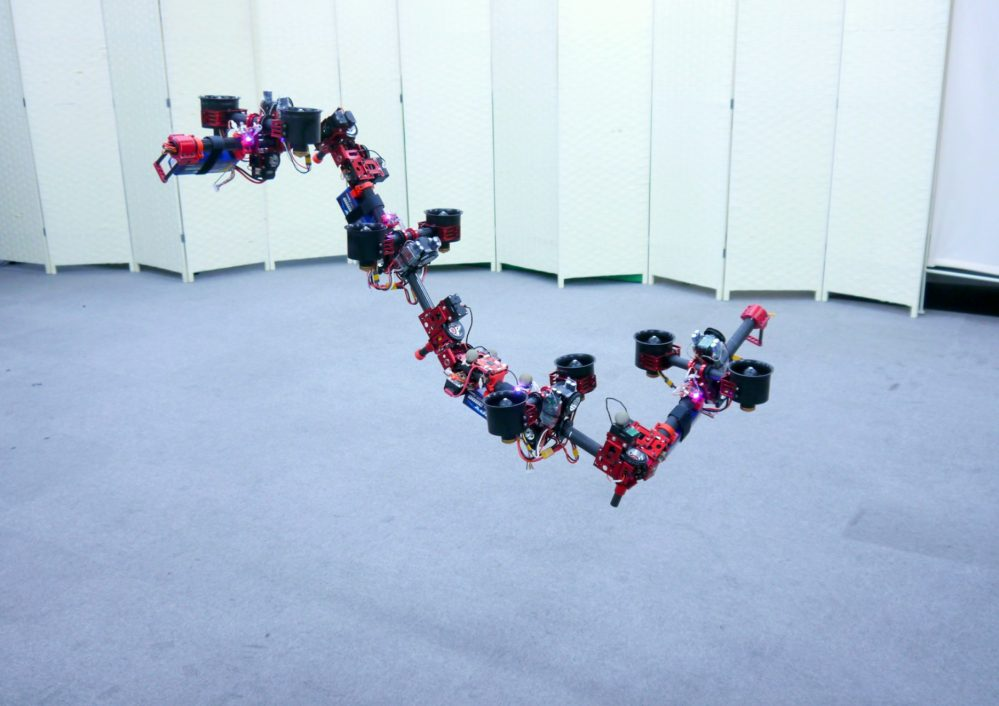Flying dragon transformer drone