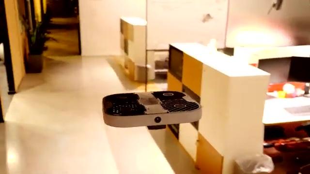 Indoor security drone
