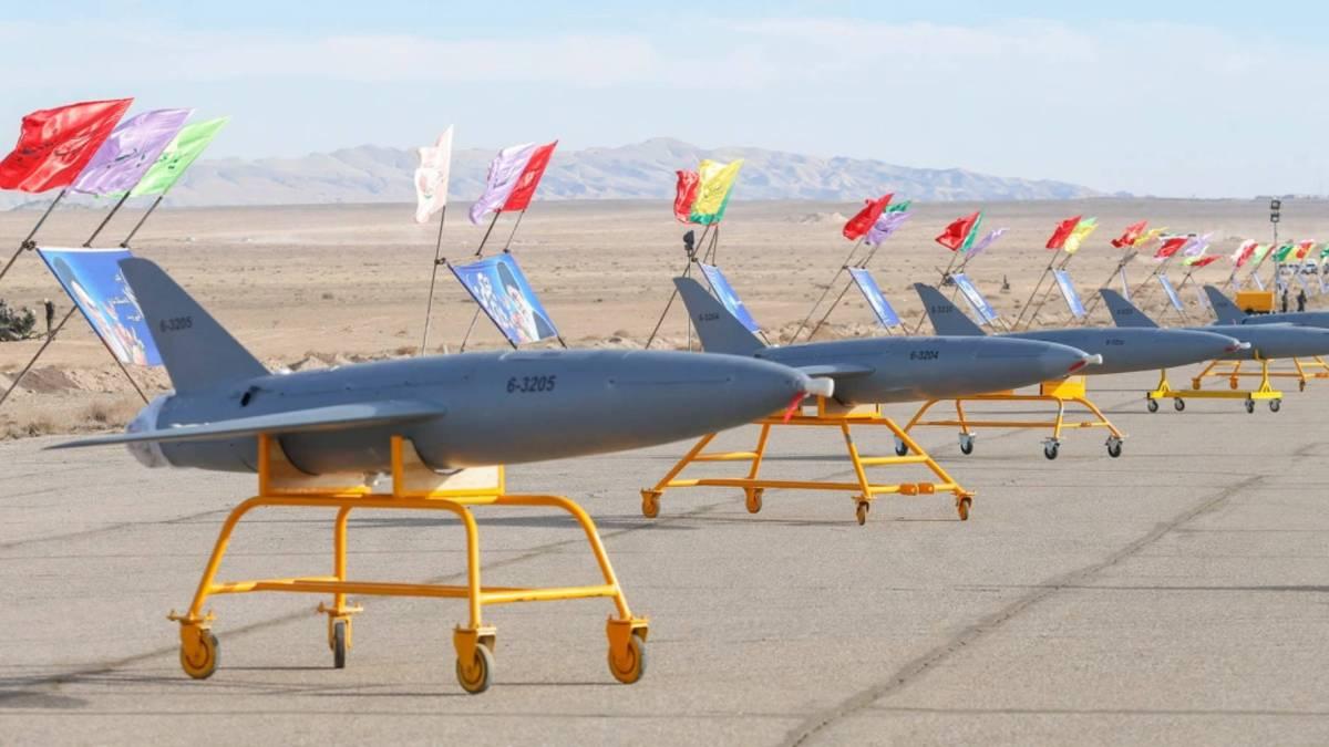 Iran kamikaze drones power