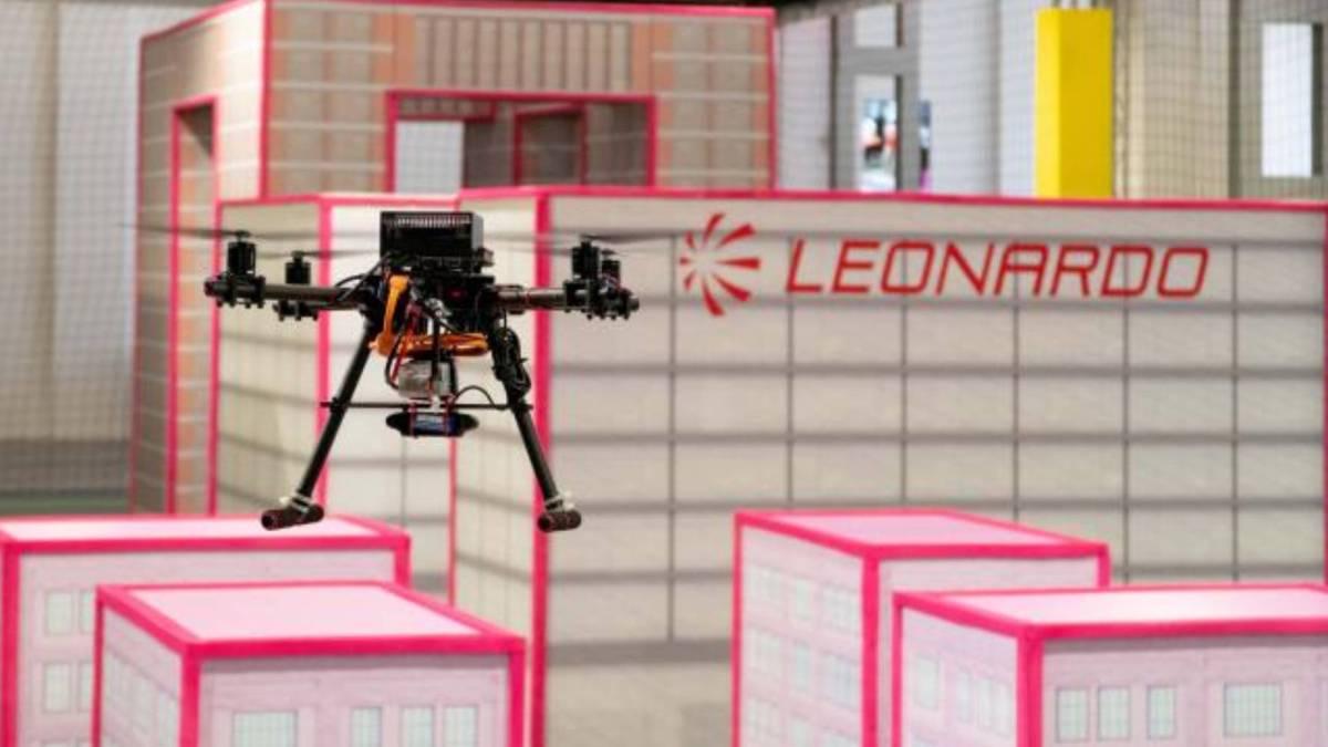 Leonardo's AI drone competition communication
