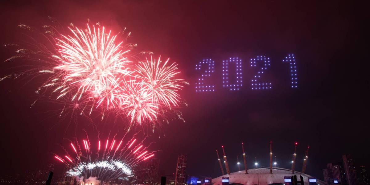 London's drone light show