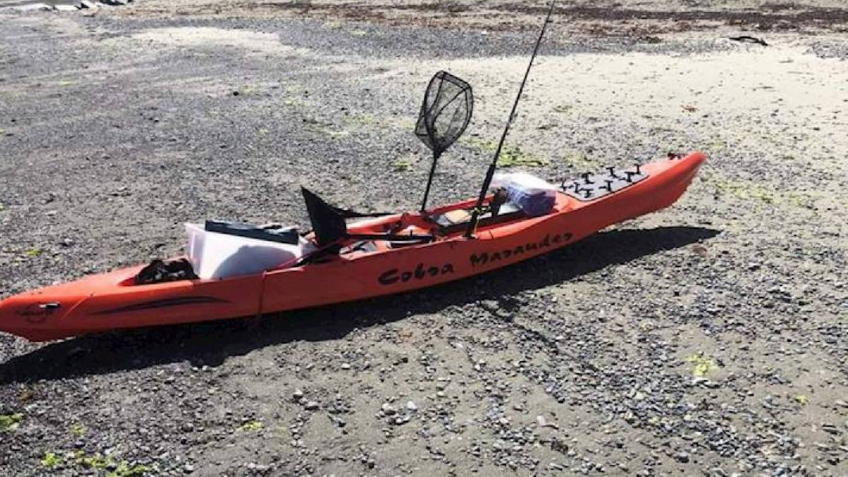 Missing kayaker drone search rescue