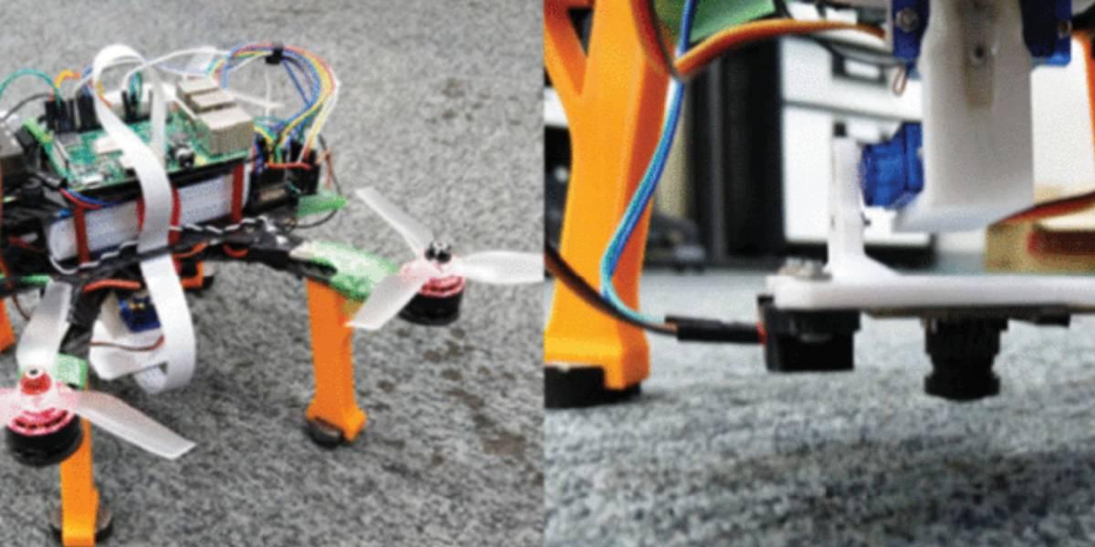 Researchers cameras drone landings