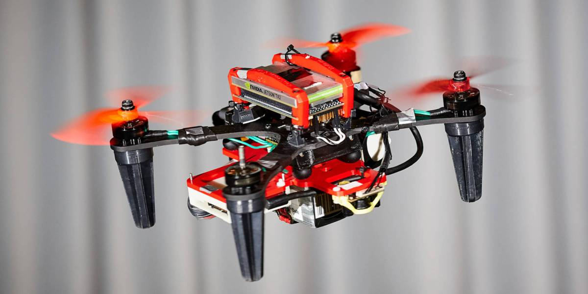 Researchers drones flying motor fails
