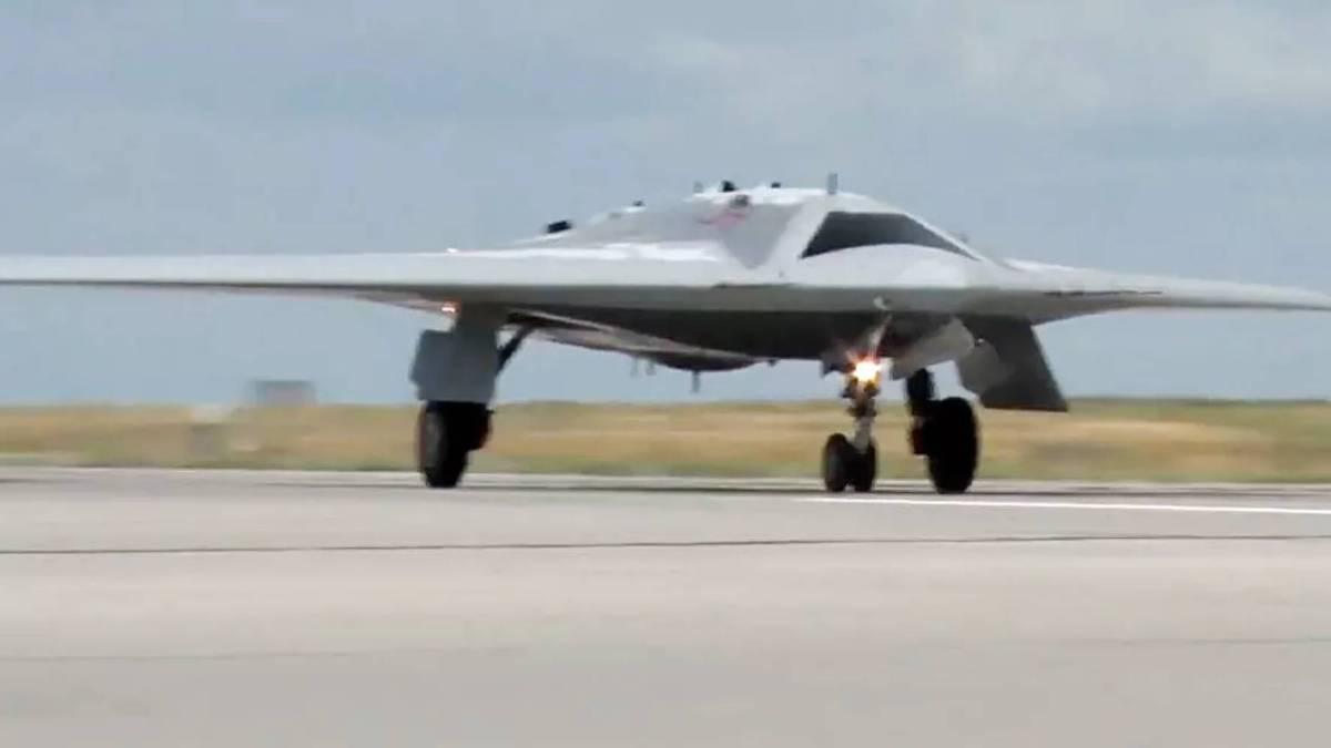 Russia Hunter-B killer drone