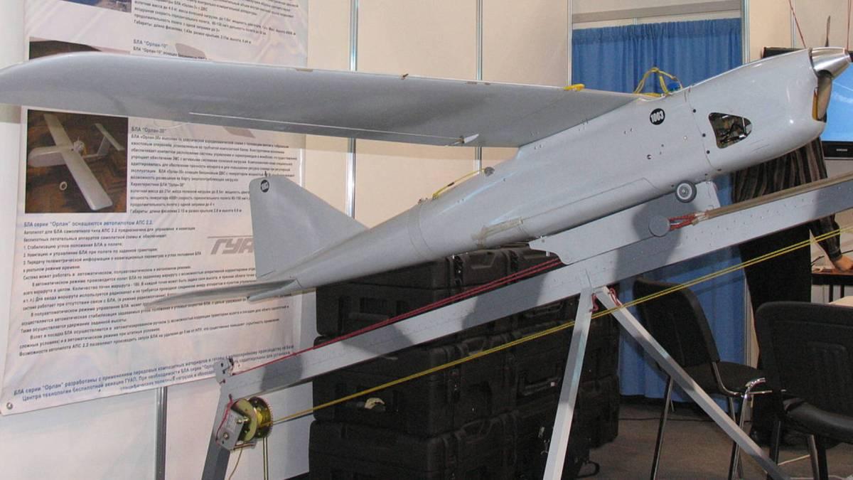 Russia Myanmar Orlan-10E drones