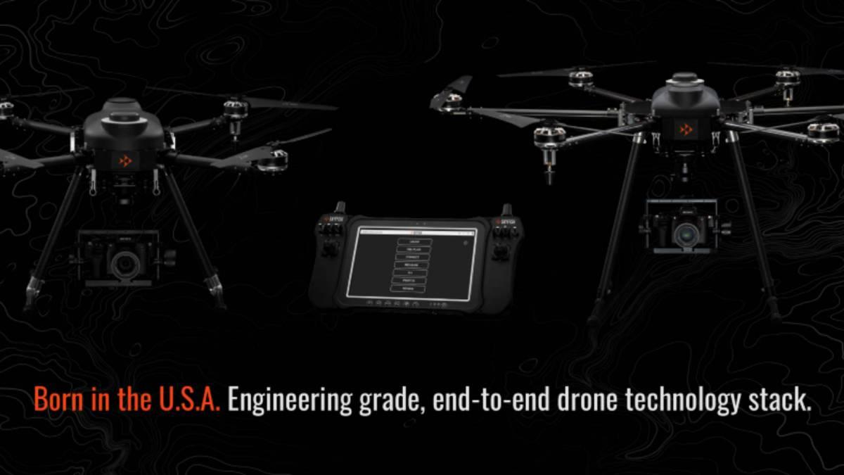 Skyfish American-made autonomous drones