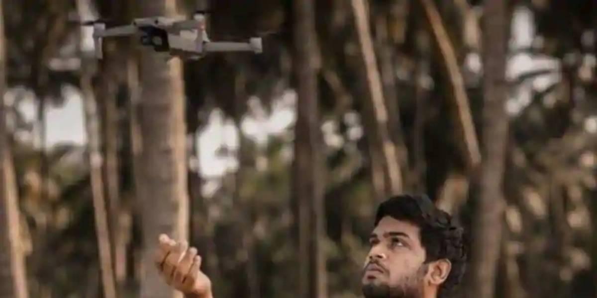 Teenager saves fishermen drone