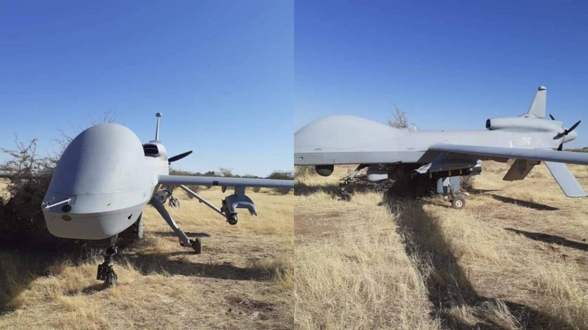 U.S. Africa Command's MQ-1C drone