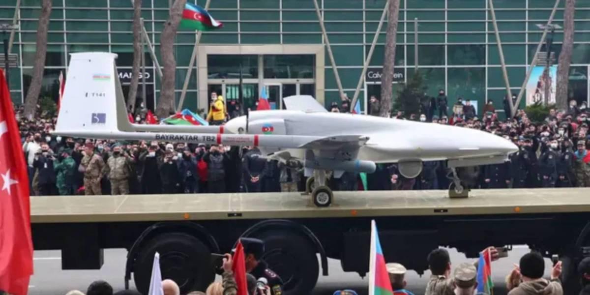 Ukrainian Navy Turkish drone