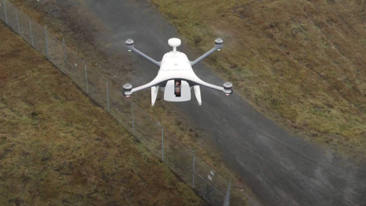 Verizon Skyward UPS drone delivery