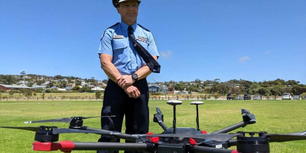 Western Australia's police drones