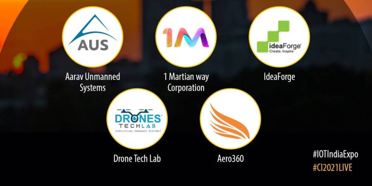 drone manufactures India IoT