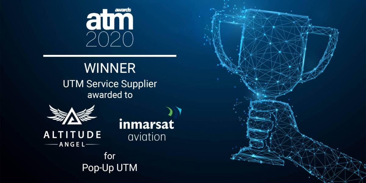 Altitude Angel Inmarsat's UTM awardAltitude Angel Inmarsat's UTM award