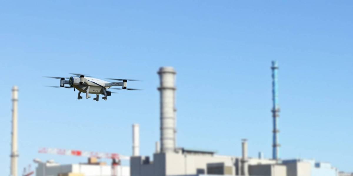 Azur Drones surveillance nuclear