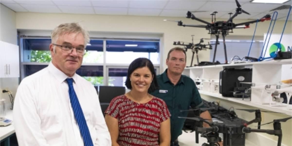 COVID-19 vaccine drones Australia